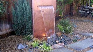 Wasserfall selber bauen. Garten wasserfall selber bauen.