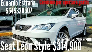 Seat León Style 150hp STD Blanco Nevada - Eduardo Seat Ventas