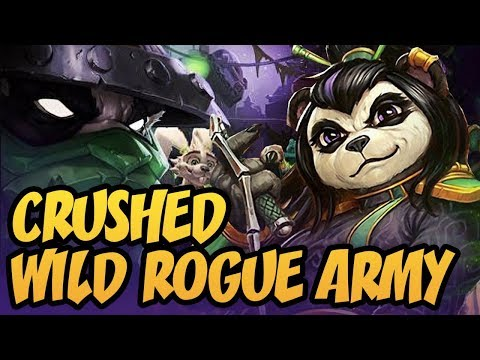 Crushed Wild Rogue Army | Rastakhan's Rumble | Hearthstone