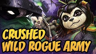 Crushed Wild Rogue Army | Rastakhan's Rumble | Hearthstone