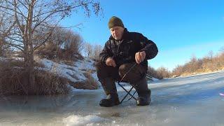 Рыбалка на реке в конце марта последний лед ловля разной рыбы