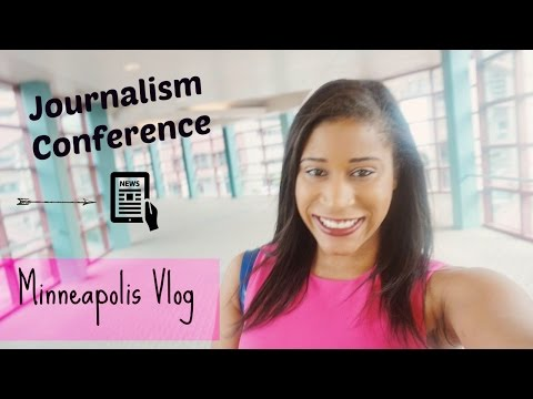 Journalism Conference & Minneapolis Vlog