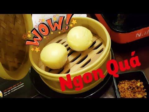 Bánh Bao Kim Sa Thơm Ngon Là Lạ Lần Đầu Ăn Ở Lẩu Vua Cần Thơ    #LẩuVua #BánhbaoKimsa