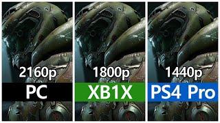 [4K] DOOM Eternal - PC vs. Xbo…