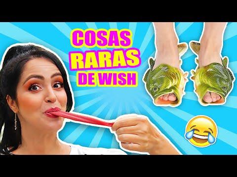 Probando COSAS RARAS BARATAS de Wish! PLAY con SandraCiresArt