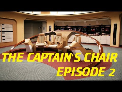 star trek captain s chair plans universal covers ivory the episode 2 discovery 111 mirror universe