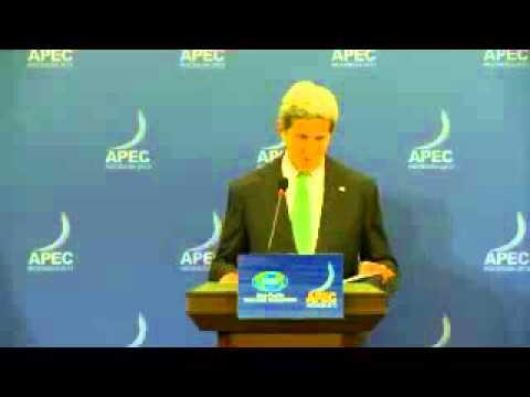 Secretary Kerry's Press Conference in Bali