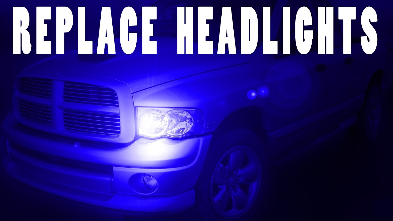 How To Change Headlights Dodge Ram 1500 02 06