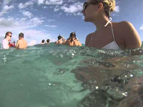 GoPRO of Stingray City in Grand Cayman  (1 of 2)