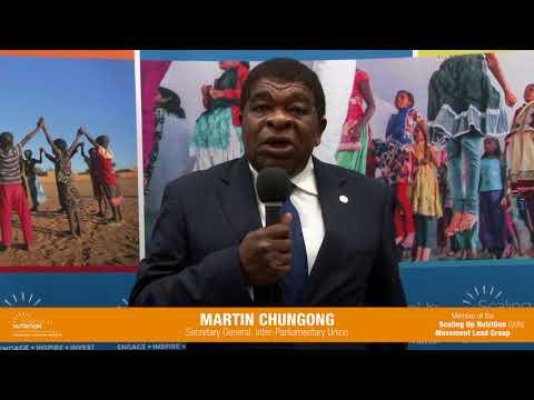 MARTIN CHUNGONG - Secretary General Inter-Parliamentary Union (IPU)