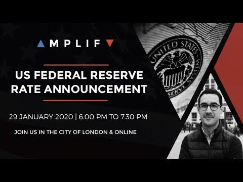 LIVE FOMC – 29th January 2020