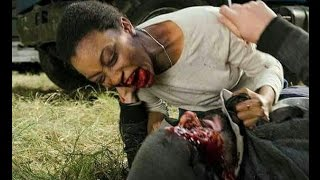 "The Walking Dead 7x16: ""Morte de Sasha"" ""Sasha Zombie (Season Finale)"
