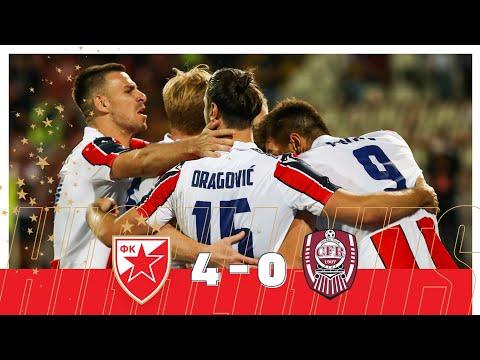 Crvena Zvezda CFR Cluj Goals And Highlights