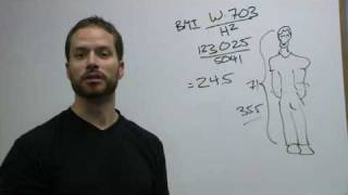 BMI - Calculating your BMI (Body Mass Index)