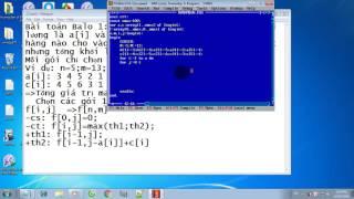 Hướng dẫn thuật toán quy hoạch động trong Pascal   phần 2   Bài toán Ba lô 1