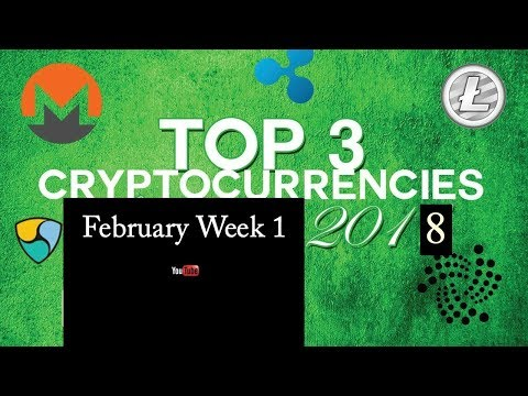 Blockchain Expert: Top 3 cryptocurrencies coin in the Market Week 1 of 2