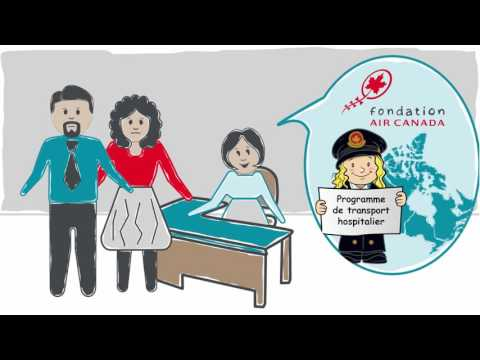 Nous vous présentons Émili et Aidan - Programme de transport hospitalier de la Fondation Air Canada