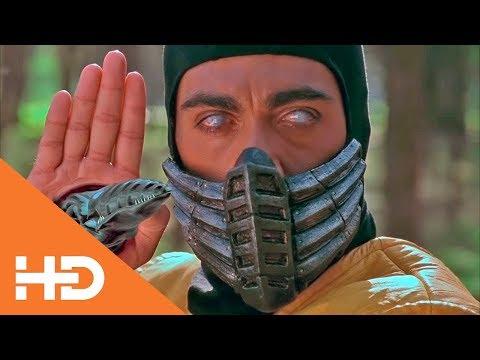 Джонни Кейдж против Скорпиона ✦  Смертельная битва (1995)