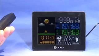 The New Digoo DG-TH8868 Full Colour Screen Weather Station