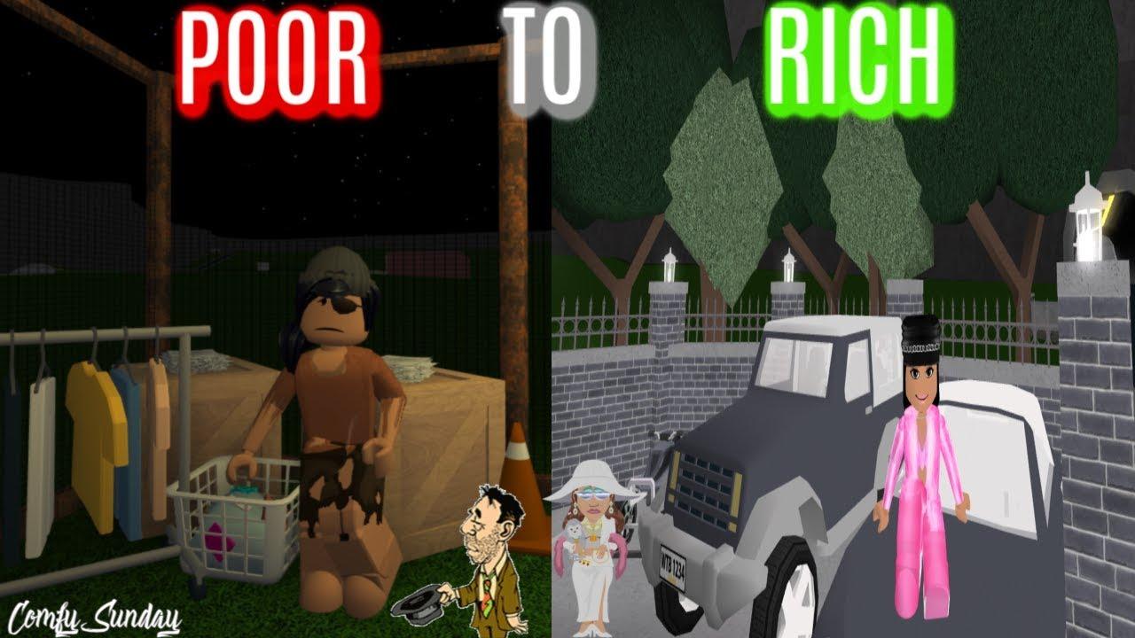 Roblox Poor To Rich Bloxburg Poor To Rich Roblox Bloxburg Youtube