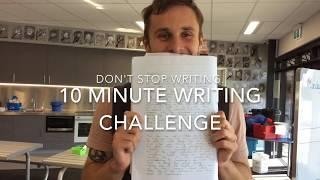 10 Minute Writing Challenge