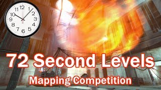 72 Second Level - Hammer Editor Mapping Challenge Playthrough