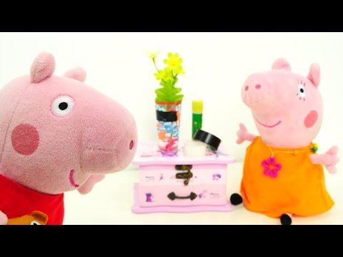 ГИГАНТСКАЯ игрушечная Свинка Пеппа и игрушки для ванны