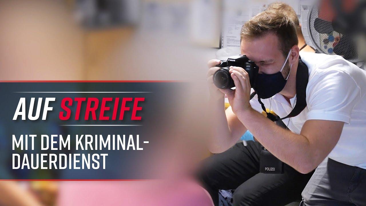 Auf Streife mit dem Kriminaldauerdienst - Polizei Hessen