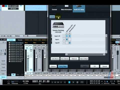 Export Stems Addictive Drum Studio One