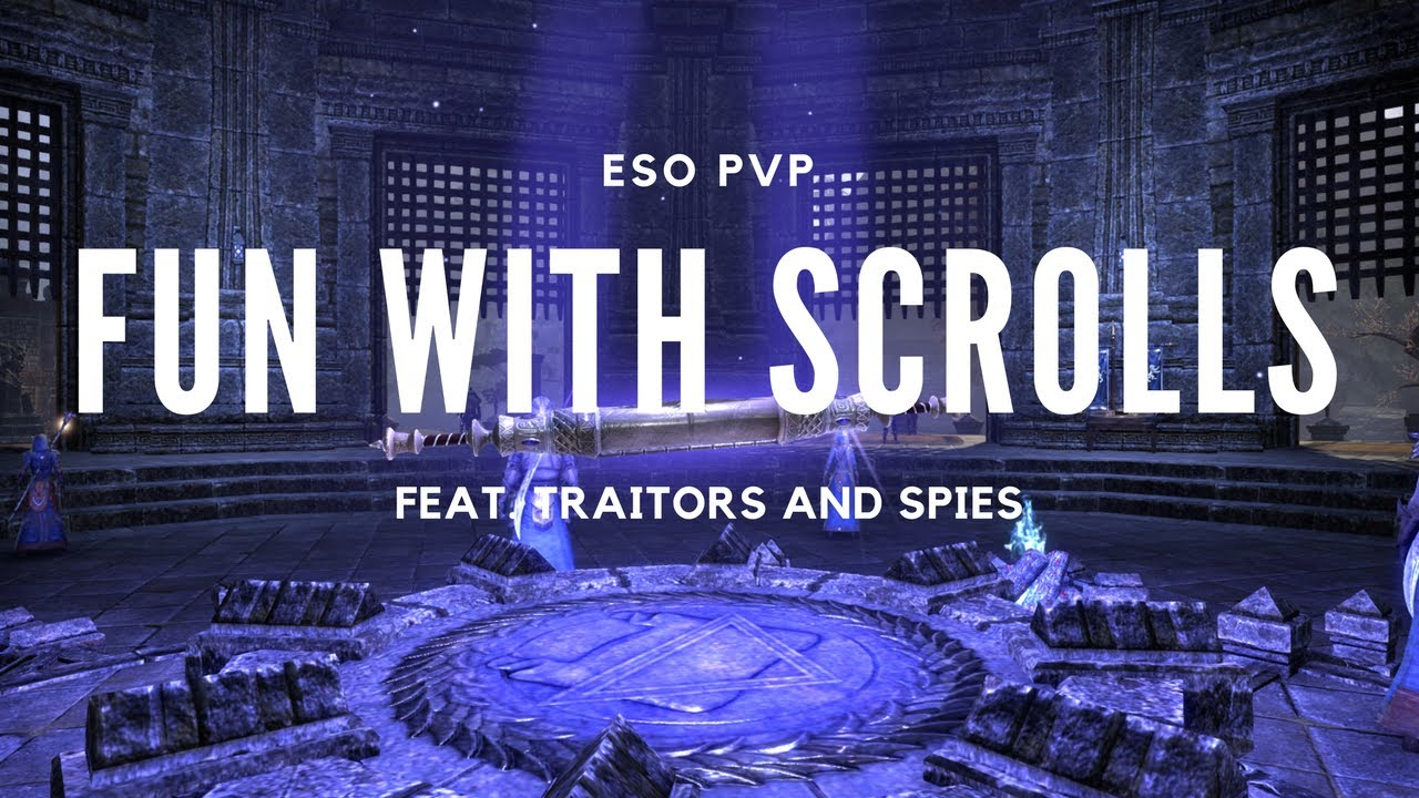 with scrolls
