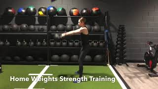 Home Weights Strength Training