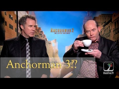 Will Ferrell and David Koechner discuss Anchorman 3 and the writing process