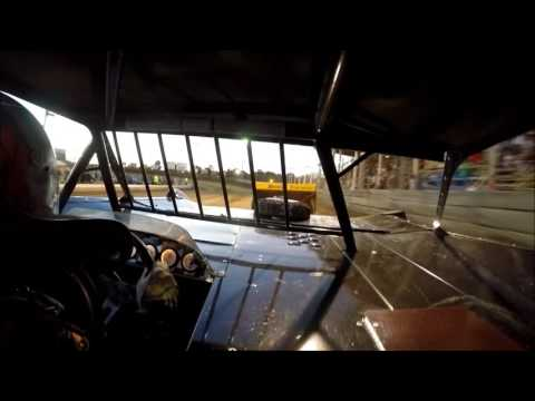 GoPro In-Car Camera with the #10 of Daryn Klein at Belle-Clair Speedway Hell Tour 6/29/16