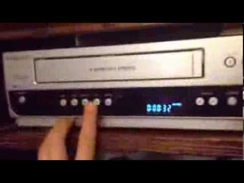 Magnavox DVD/VCR Recorder Review - YouTube
