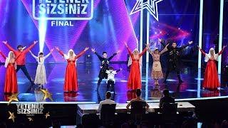 Gambar cover İnegöl Ahıskalılar Derneği Folklör Ekibi final performansı | Yetenek Sizsiniz Türkiye