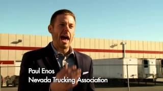60 Second PSA - Staged Accidents Targeting Big Rigs Could Turn Deadly