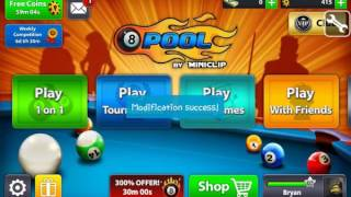 8 Ball Pool Coin Hack 2016  YouTube