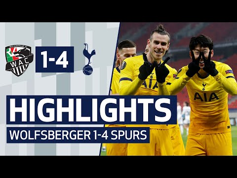 HIGHLIGHTS | WOLFSBERGER 1-4 SPURS | Puskas winner Heung-min Son scores in Puskas Arena!