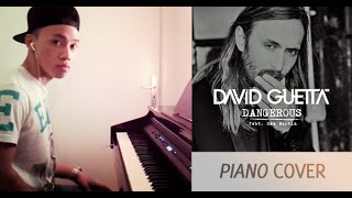 David Guetta ft. Sam Martin - Dangerous (piano cover by Ducci, lyrics + MP3)