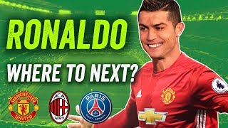 Will Cristiano Ronaldo transfer to Manchester United, PSG or Serie A?