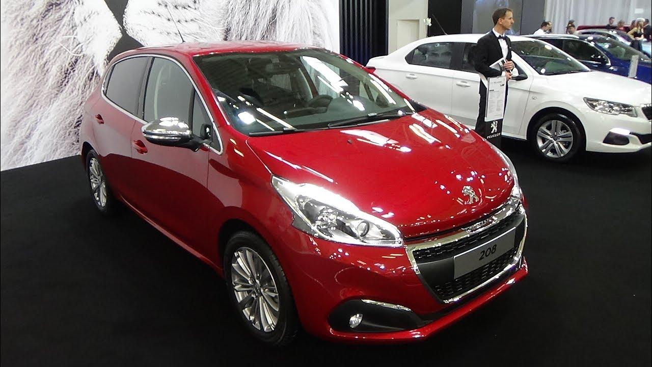 Download 2018 Peugeot 208 Allure PureTech 110 - Exterior and Interior - Auto Salon Bratislava 2018