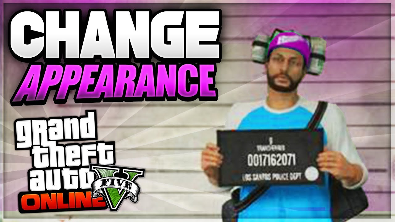 gta online change character appearance ps3