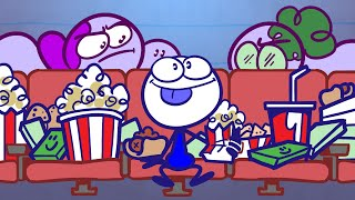 Pencilmate's Movie Madness! | Animated Cartoons Characters | Animated Short Films