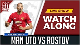 Video Manchester United vs FC Rostov LIVE STREAM WATCHALONG download MP3, 3GP, MP4, WEBM, AVI, FLV September 2017