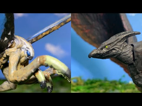 Custom Figure: Jakks Mothra/ Jakks Rodan: Godzilla King Of The Monsters 2019