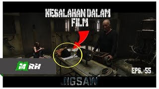 KESALAHAN FILM JIGSAW - SAW 8 (2017) #55
