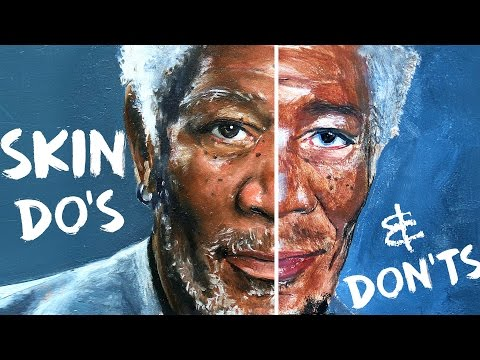 Do's and Don'ts of Skin Tones Painting   How To Paint Skin