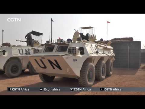 EXCLUSIVE: Video of the bomb attack on a military base in Mali