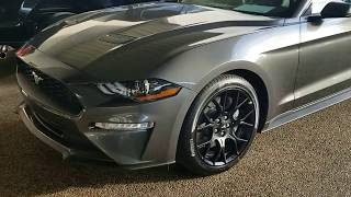 The New 2018 Ford  Mustang EcoBoost With Awesome Wheels