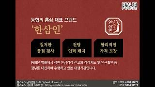 농협의 홍삼 대표브랜드 한삼인 '천지구력환…